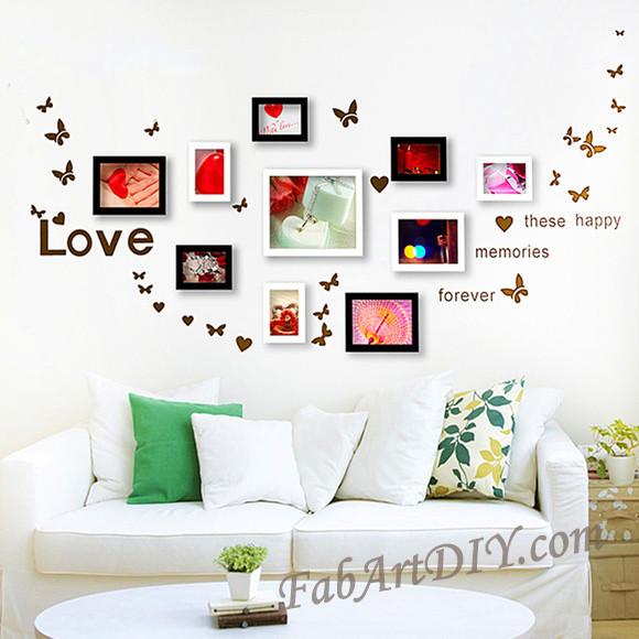 ιδέες με κορνίζες για Wall art21