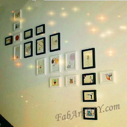 ιδέες με κορνίζες για Wall art22