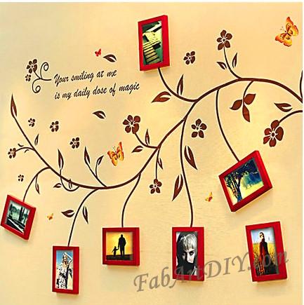 ιδέες με κορνίζες για Wall art23
