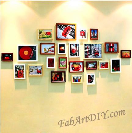 ιδέες με κορνίζες για Wall art24