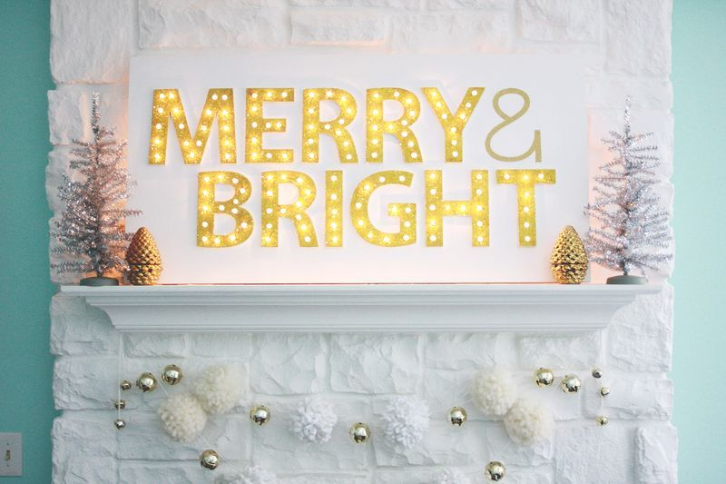 Χριστουγεννιάτικη Διακόσμηση με φωτάκια1