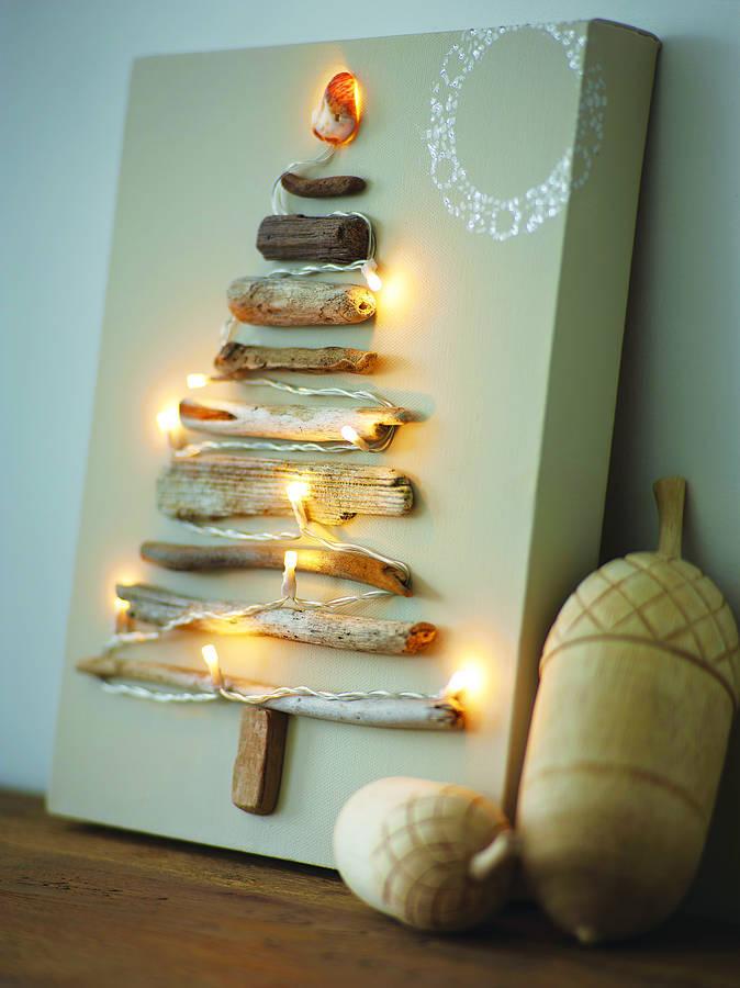 Χριστουγεννιάτικη Διακόσμηση με φωτάκια10
