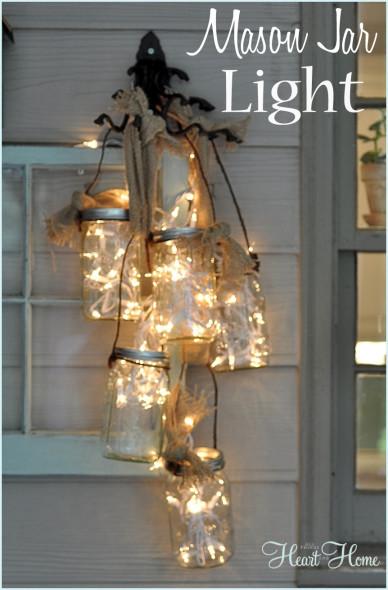 Χριστουγεννιάτικη Διακόσμηση με φωτάκια2