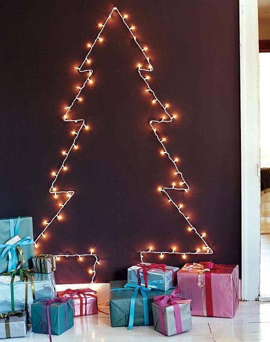 Χριστουγεννιάτικη Διακόσμηση με φωτάκια3