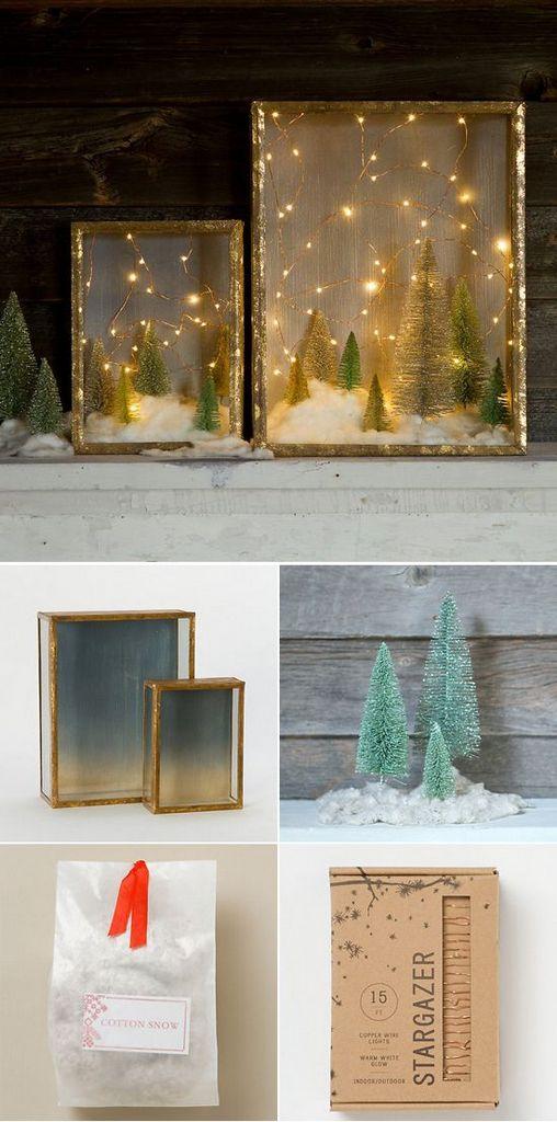 Χριστουγεννιάτικη Διακόσμηση με φωτάκια4
