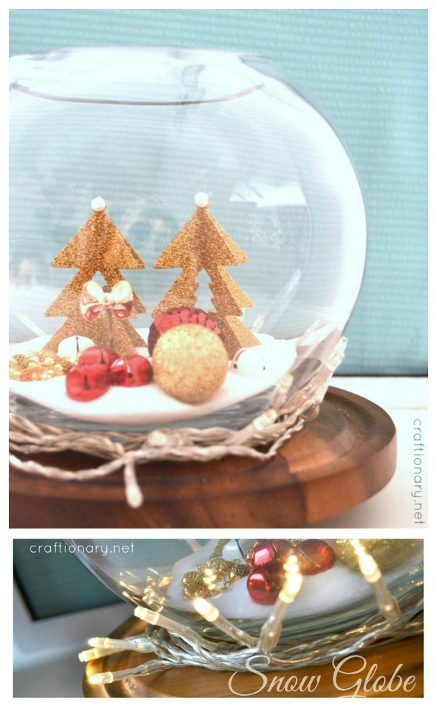 Χριστουγεννιάτικη Διακόσμηση με φωτάκια9