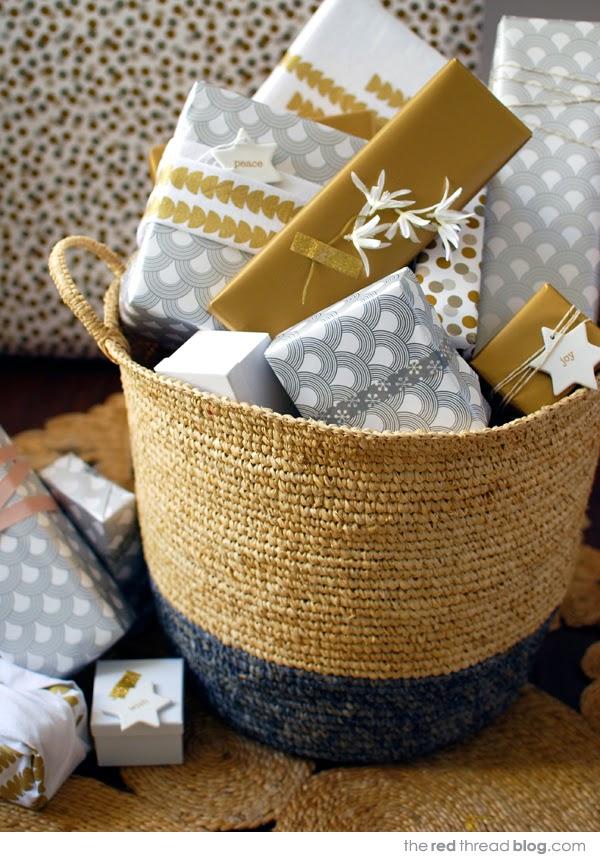 Χριστουγεννιάτικη διακόσμηση σε παστέλ, χρυσό, λευκό και ξύλο4