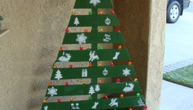 Χριστουγεννιάτικο Δέντρο από Παλέτες2