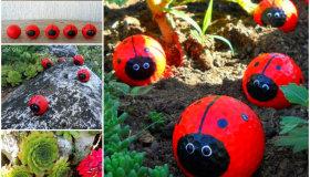 πασχαλίτσες για τον κήπο σας από μπαλάκια του γκόλφ