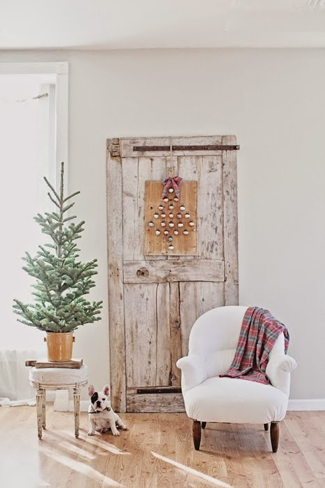 χριστουγεννιάτικες διακοσμήσεις σε Ονειρικά Λευκά5