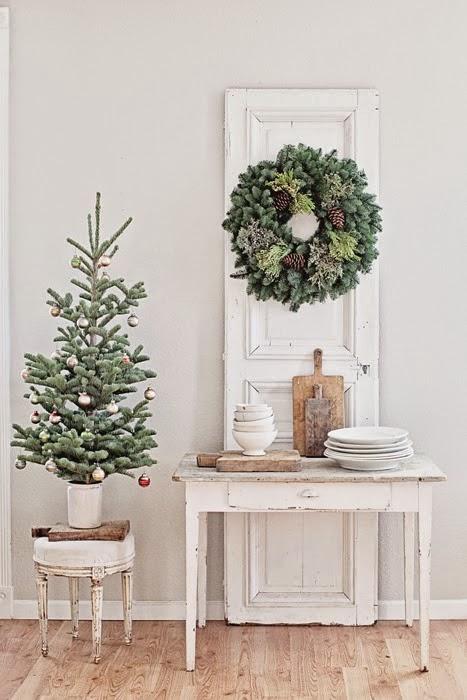χριστουγεννιάτικες διακοσμήσεις σε Ονειρικά Λευκά7