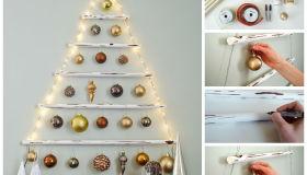 Diy Κρεμαστό Χριστουγεννιάτικο Δέντρο