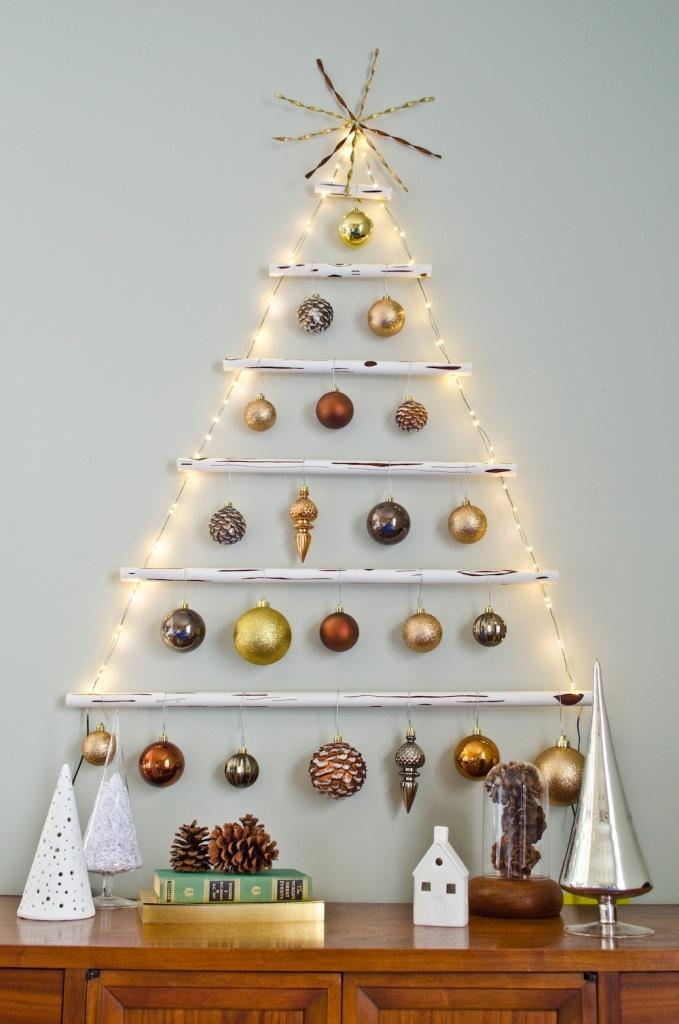 Diy Κρεμαστό Χριστουγεννιάτικο Δέντρο1