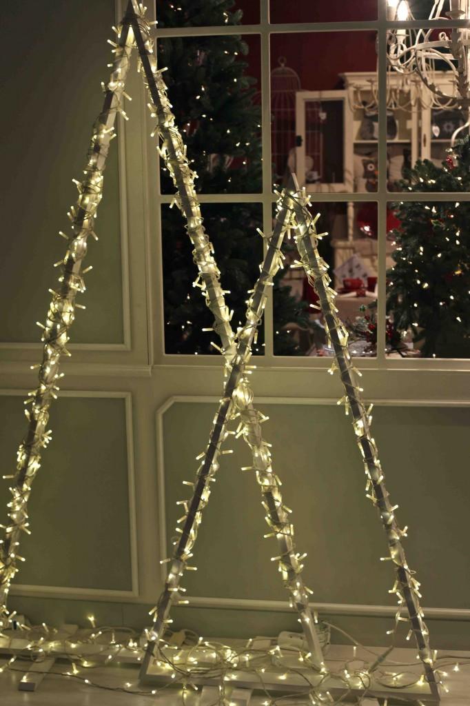 Diy χριστουγεννιάτικα δέντρα3