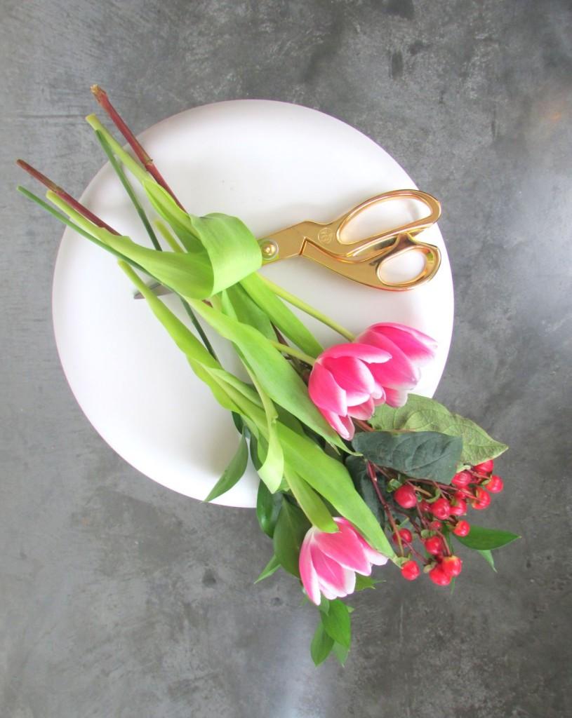 Τέχνη τοίχου με λουλούδια για την Ημέρα του Αγίου Βαλεντίνου3