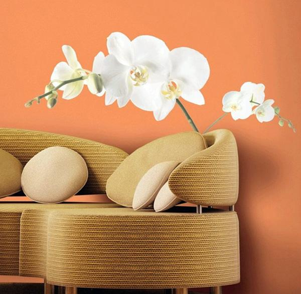 Ιδέες Διακόσμησης για την άνοιξη με λουλούδια στους τοίχους10