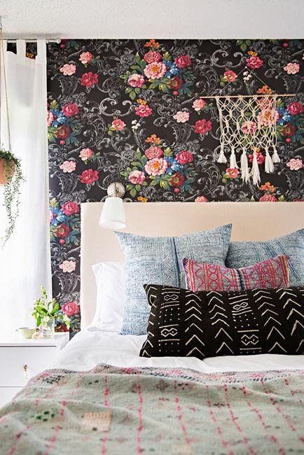 Ιδέες Διακόσμησης για την άνοιξη με λουλούδια στους τοίχους13