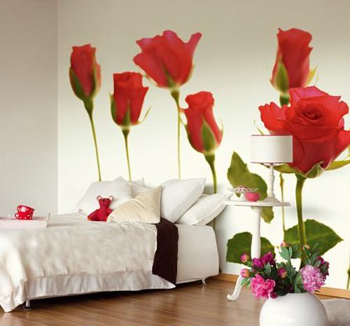 Ιδέες Διακόσμησης για την άνοιξη με λουλούδια στους τοίχους14