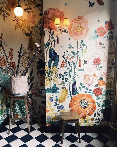 Ιδέες Διακόσμησης για την άνοιξη με λουλούδια στους τοίχους17