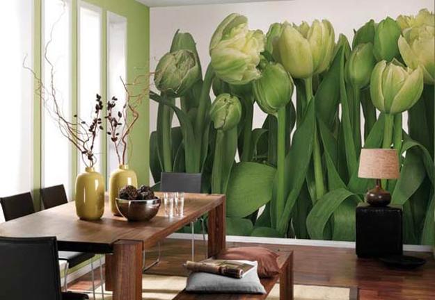 Ιδέες Διακόσμησης για την άνοιξη με λουλούδια στους τοίχους21