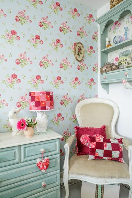 Ιδέες Διακόσμησης για την άνοιξη με λουλούδια στους τοίχους23