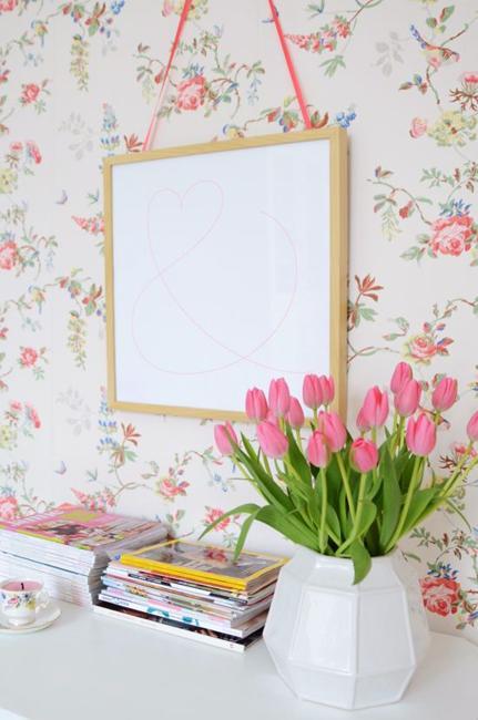 Ιδέες Διακόσμησης για την άνοιξη με λουλούδια στους τοίχους24