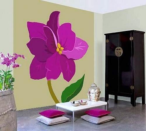 Ιδέες Διακόσμησης για την άνοιξη με λουλούδια στους τοίχους4