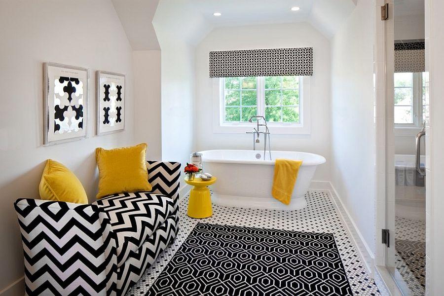 Μπάνια με τη ζεστή δελεαστική ομορφιά του Κίτρινου13