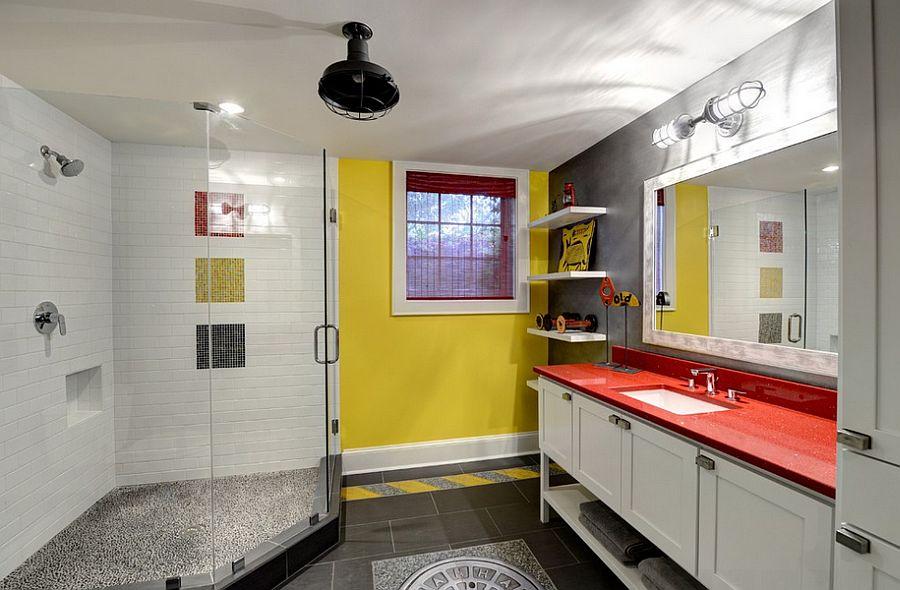 Μπάνια με τη ζεστή δελεαστική ομορφιά του Κίτρινου16