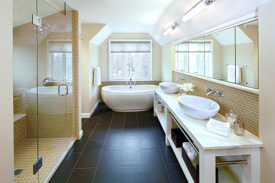 Μπάνια με τη ζεστή δελεαστική ομορφιά του Κίτρινου3