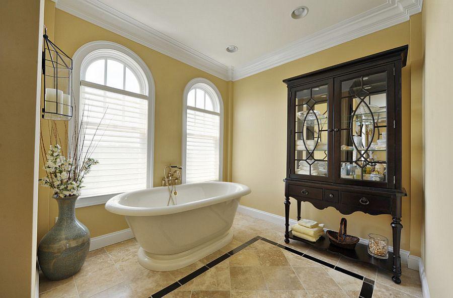 Μπάνια με τη ζεστή δελεαστική ομορφιά του Κίτρινου8