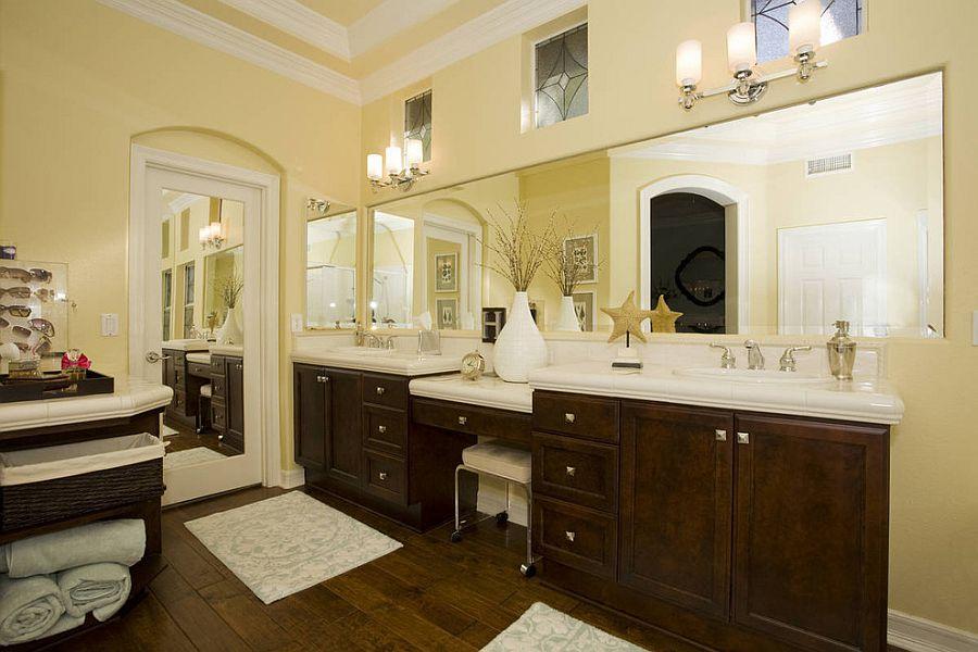 Μπάνια με τη ζεστή δελεαστική ομορφιά του Κίτρινου9