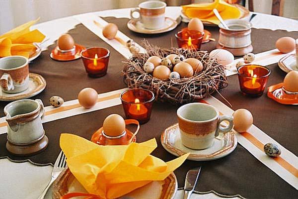 ιδέες Διακόσμησης για το Πασχαλινό τραπέζι 11