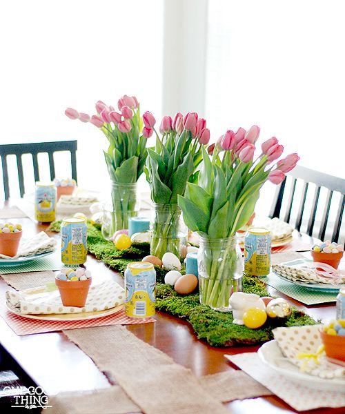 ιδέες Διακόσμησης για το Πασχαλινό τραπέζι 8