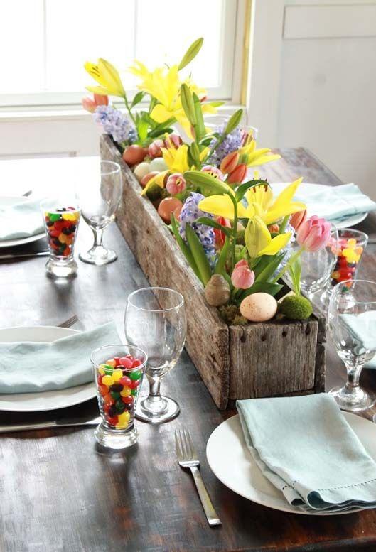 ιδέες Διακόσμησης για το Πασχαλινό τραπέζι 9