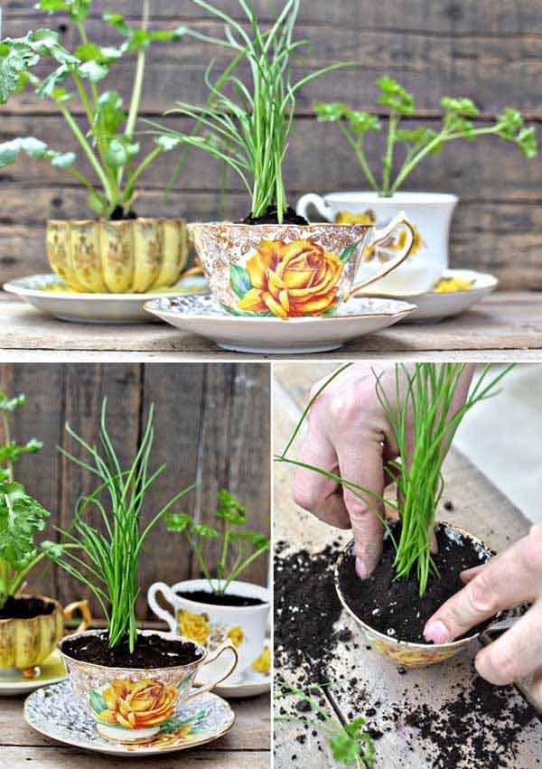 DIY Γλάστρες Κήπου11