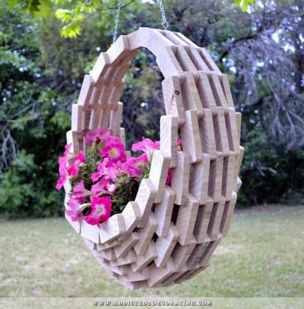 DIY Γλάστρες Κήπου13