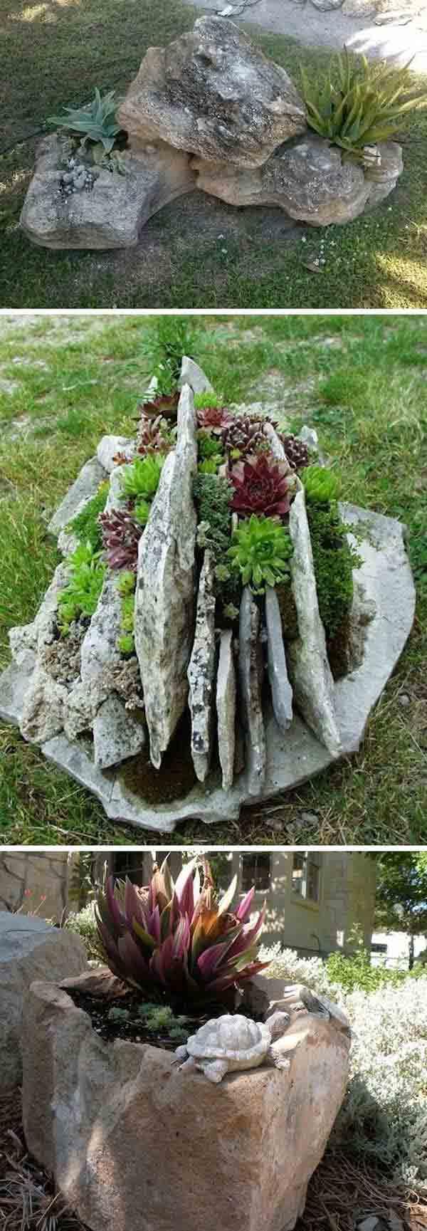 DIY Γλάστρες Κήπου24