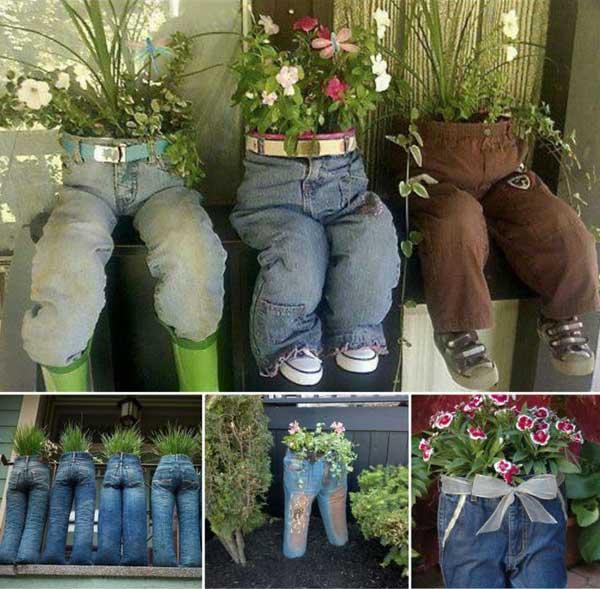 DIY Γλάστρες Κήπου29