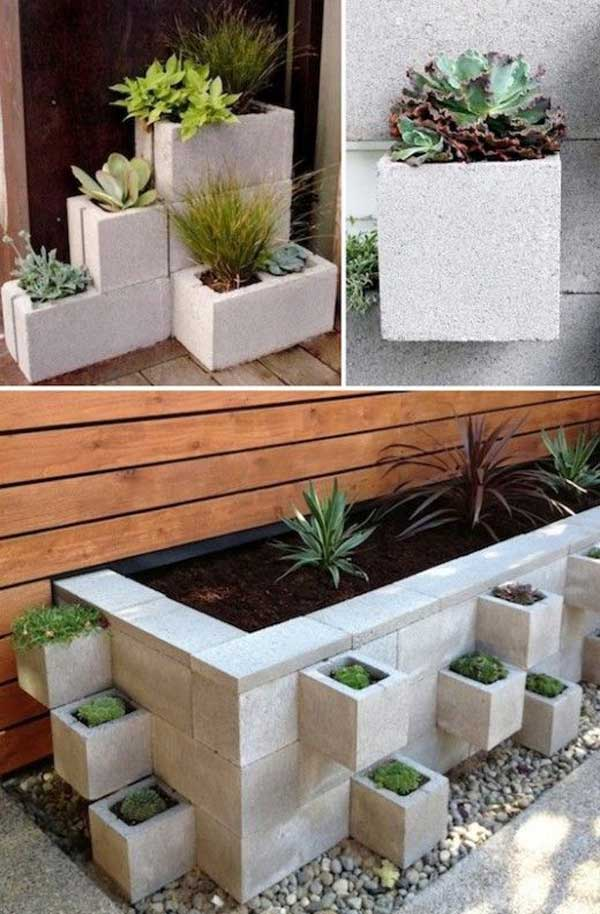 DIY Γλάστρες Κήπου30