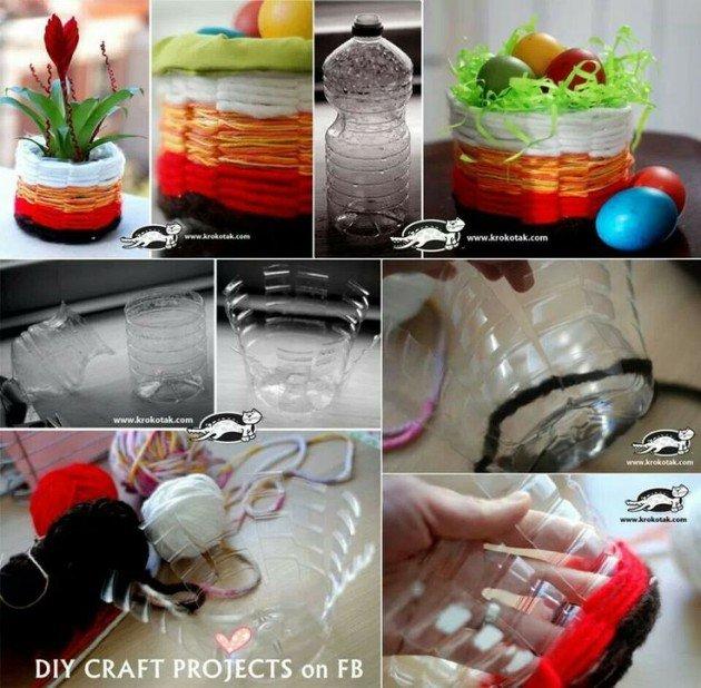 Diy ιδέες για την επαναχρησιμοποίηση πλαστικών μπουκαλιών3