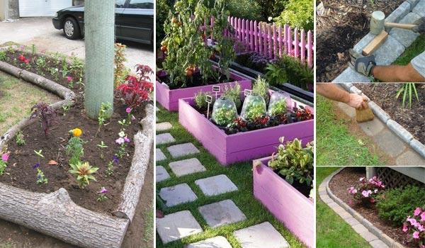 Ιδέες για παρτεράκια στον Κήπο