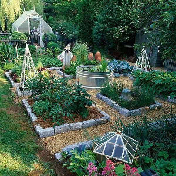 Ιδέες για παρτεράκια στον Κήπο17