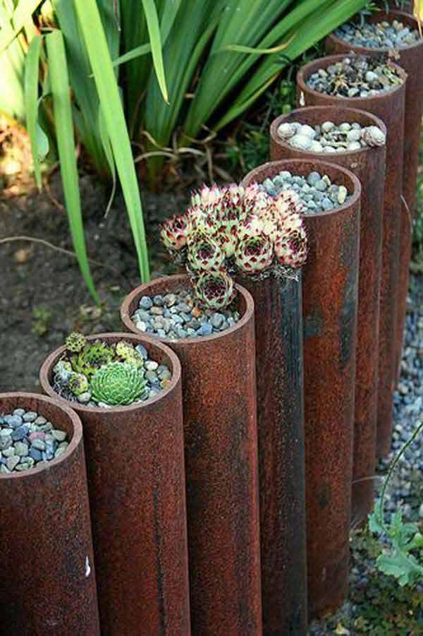 Ιδέες για παρτεράκια στον Κήπο8