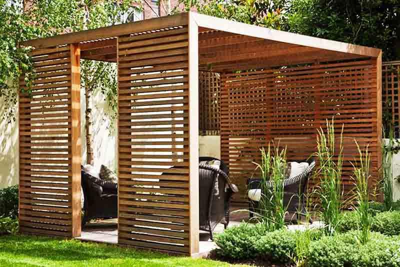 Ιδέες σχεδιασμού ξύλινης πέργκολας26