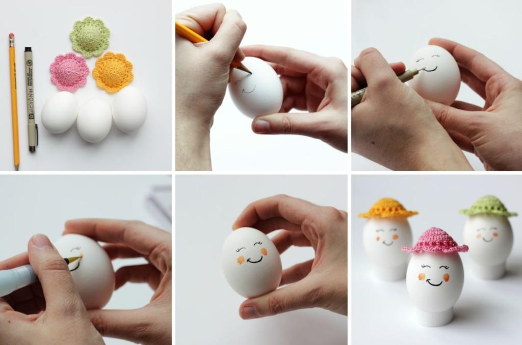 Πρωτότυπες ιδέες για διακόσμηση Πασχαλινών αυγών13