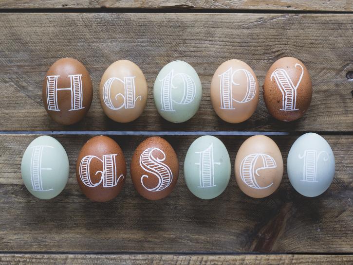 Πρωτότυπες ιδέες για διακόσμηση Πασχαλινών αυγών9
