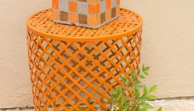 DIY Βάζα από τσιμεντένια μπλόκα5