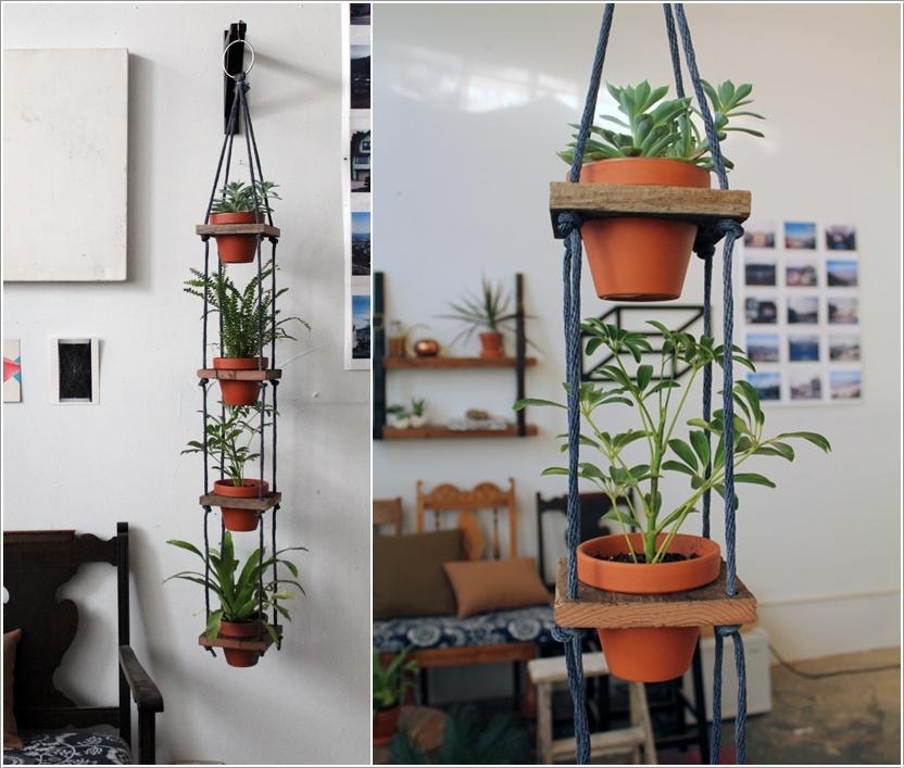 DIY ιδέες για κρεμαστές γλάστρες6