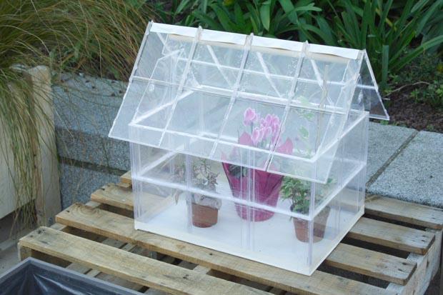 Βεράντα Κήπος από ανακυκλωμένα υλικά2